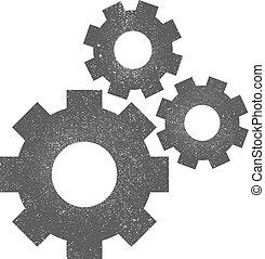 Gears Vector Icon