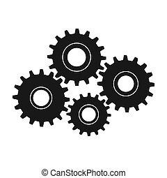 Gears, Vector Illustration