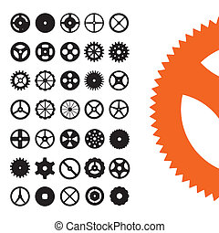 Gears Vector Set