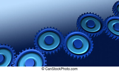 gears - Gears in movement