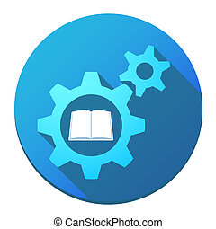 Gears with a book