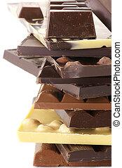 geassorteerd, chocolade