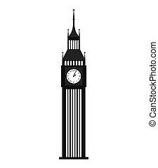 gebäude, big ben, london