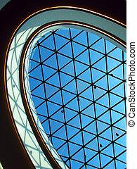 gebäude, glas, modern, kuppel, geschaeftswelt