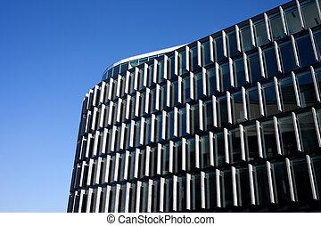 gebäude, moderne architektur, buero
