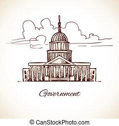 gebäude, regierung