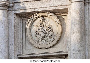 gebäude, rom, parlament, italien, italienesche