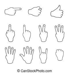 gebaren, set