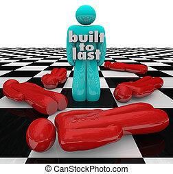 gebaut, zu, letzter , person, stehende , gewinner, starke , ermittlung