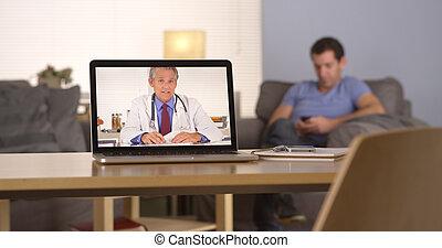 geben, webcam, rat, über, doktor