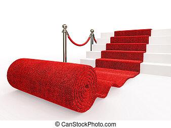 gebeurtenis, tapijt