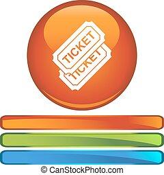 gebeurtenis, ticket