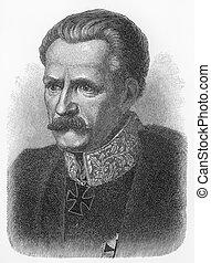 Gebhard Leberecht Blucher - Picture from Meyers Lexicon...