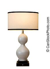 gebogen, lampe