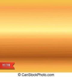 geborsteld metaal, goud, textuur, achtergrond