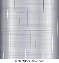 geborsteld metaal, textuur