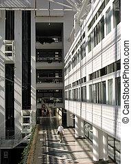 gebouw, 4, kantoor
