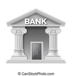 gebouw aarden, bank