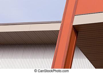 gebouw, architecturaal detail, buitenkant