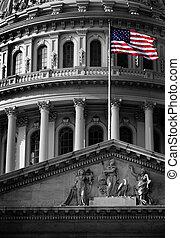 gebouw, capitool, ons