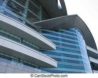 gebouw, closeup