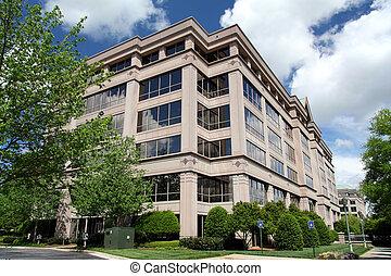 gebouw, collectief bureau