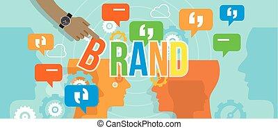 gebouw, concept, zakelijk, het brandmerken, merk, collectief, bedrijf