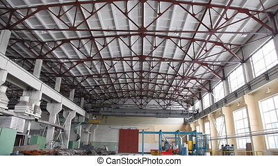 gebouw, fabriek