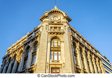 gebouw facade, historisch
