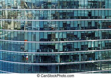 gebouw, kantoor