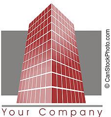gebouw, logo
