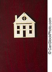 gebouw, model, multistory