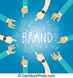 gebouw, naam, zakelijk, het brandmerken, merk, werken, bouwen, team, marketing, bedrijf