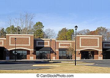 gebouw, nieuw, commercial-retail-office