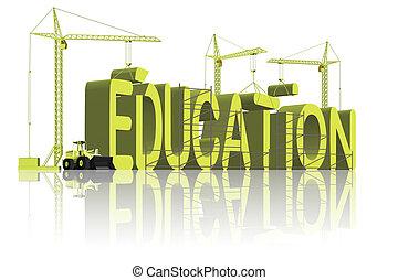 gebouw, opleiding