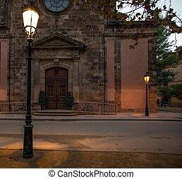 gebouw, parc, la, ciutadella, de, barcelona