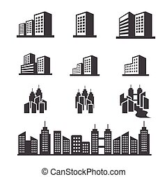 gebouw, pictogram