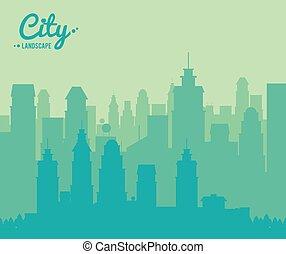 gebouw, stad, stedelijk ontwerp, wolkenkrabber, landscape