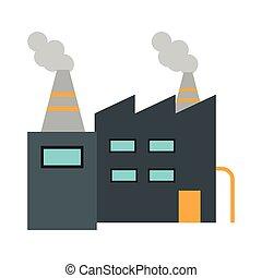 gebouw, symbool, fabriek