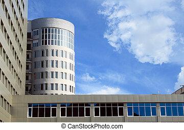 gebouw, universiteit, saratov