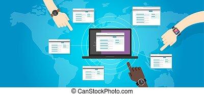 gebouw, website, zoeken, refferal, motor, optimization, ...