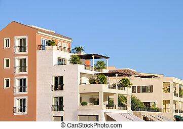 gebouwen, middellandse zee