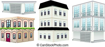 gebouwen, ontwerpen, anders