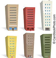 gebouwen, set