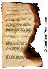 gebrande, boek