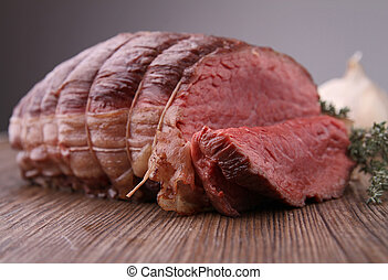 gebraten, rindfleisch