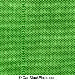 gebrauch, grüner hintergrund, beschaffenheit, plastik
