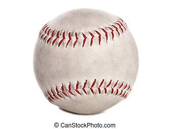 gebraucht, baseball, freisteller