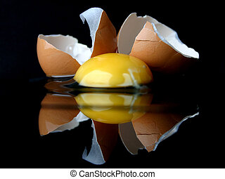 gebroken ei, reeks
