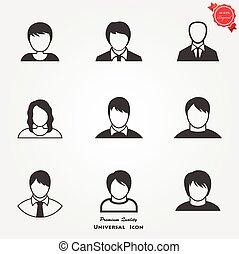 gebruiker, iconen